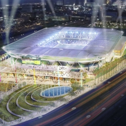 Majestic Realty Leaves Las Vegas NFL Stadium Development Group, As Plan Gains Approval